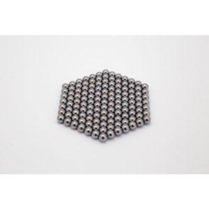 Magnetkugelm 5mm verchromt N45