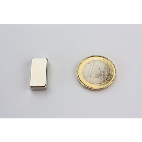 Quadermagnet 20x10x5 mm