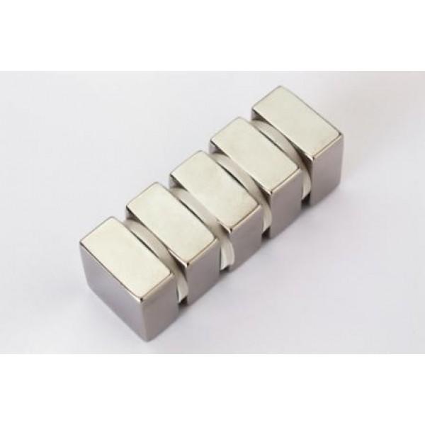 Neodym Quadermagnet 20x20x10 mm